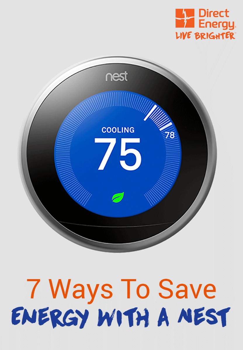 How To Save Energy with The Nest Learning Thermostat