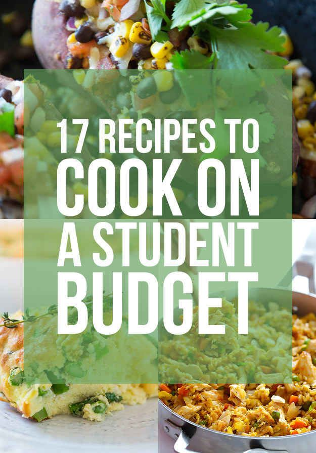 17 Recipes To Cook On A Student Budget Buzzfeed Bytes Pinterest
