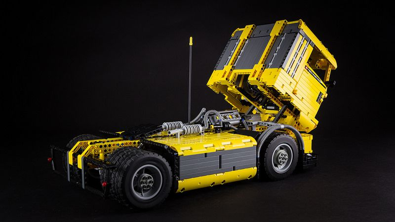 lego technic race truck in 2018 lego pinterest lego lego lkw und lego technik. Black Bedroom Furniture Sets. Home Design Ideas
