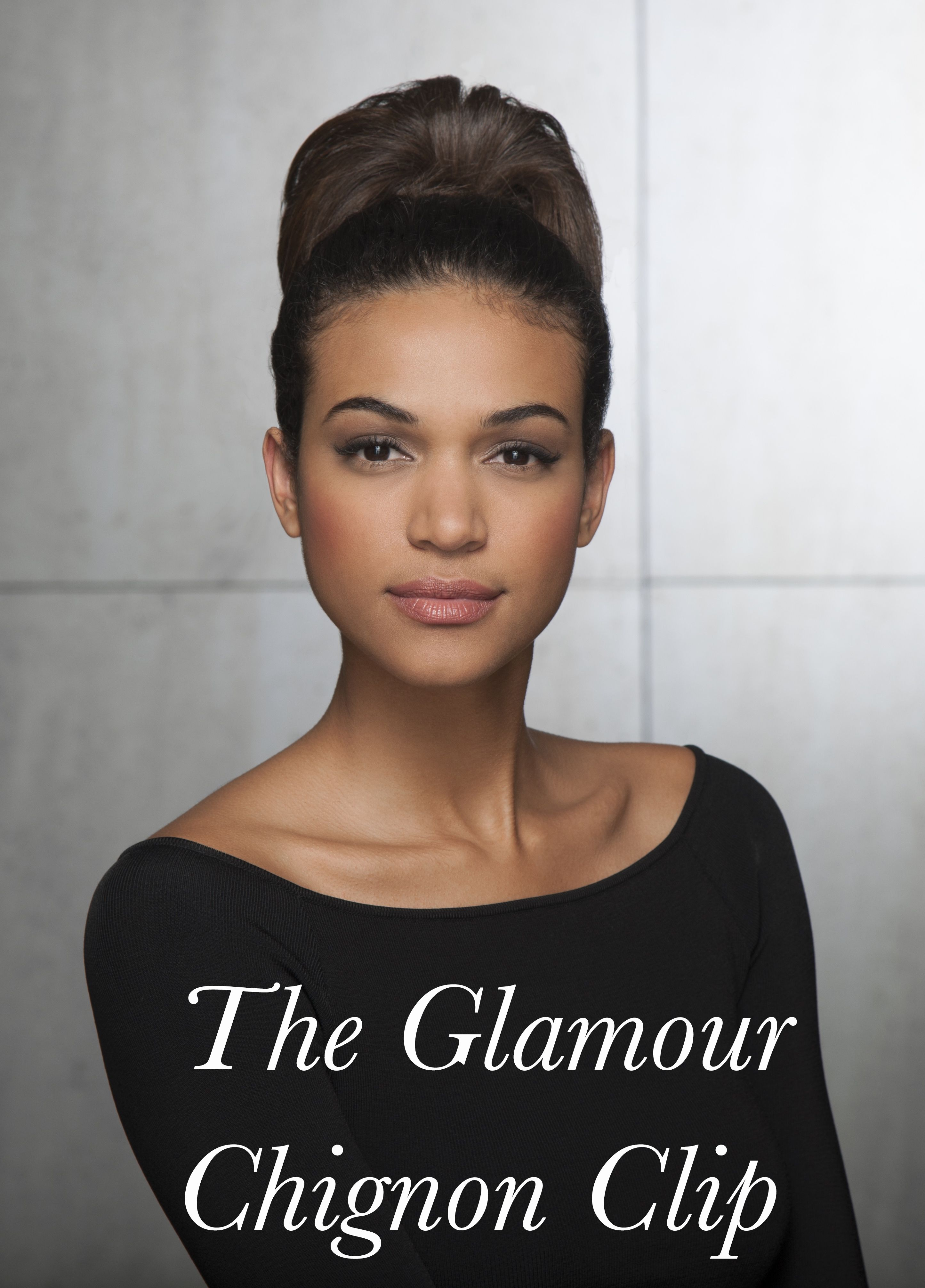 Available This Weekend Only On Qvc The New Glamour Chignon Clip