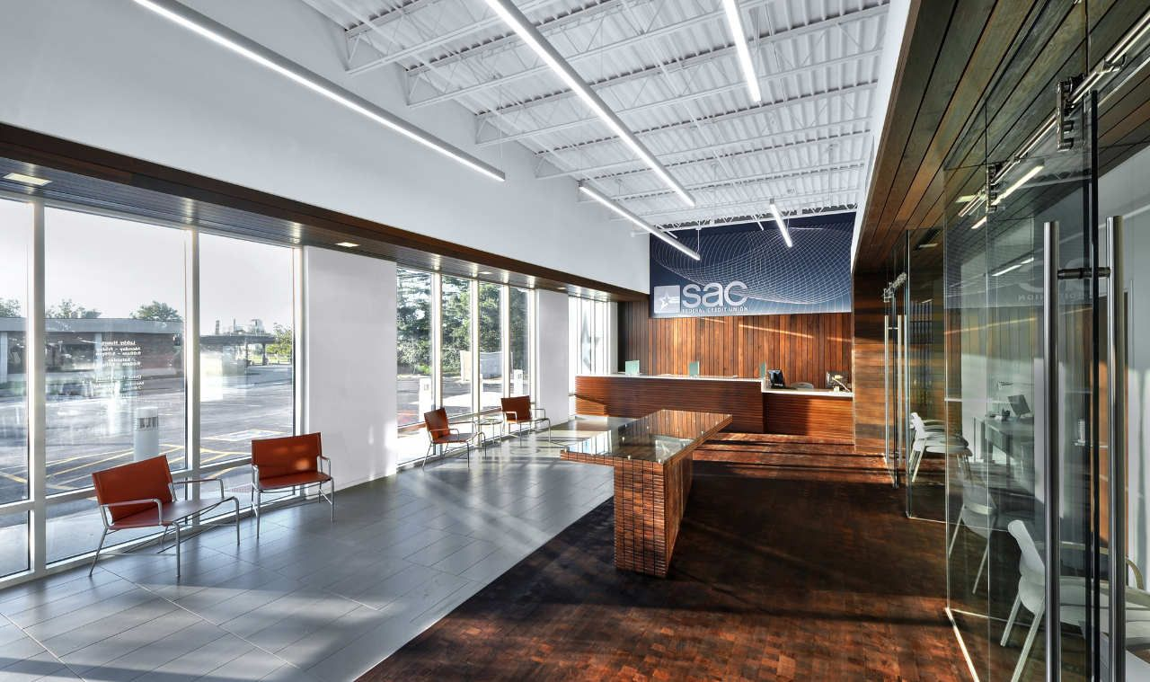 Gallery of SAC Federal Credit Union \/ Leo A Daly - 6 Interior design, Design, Interior
