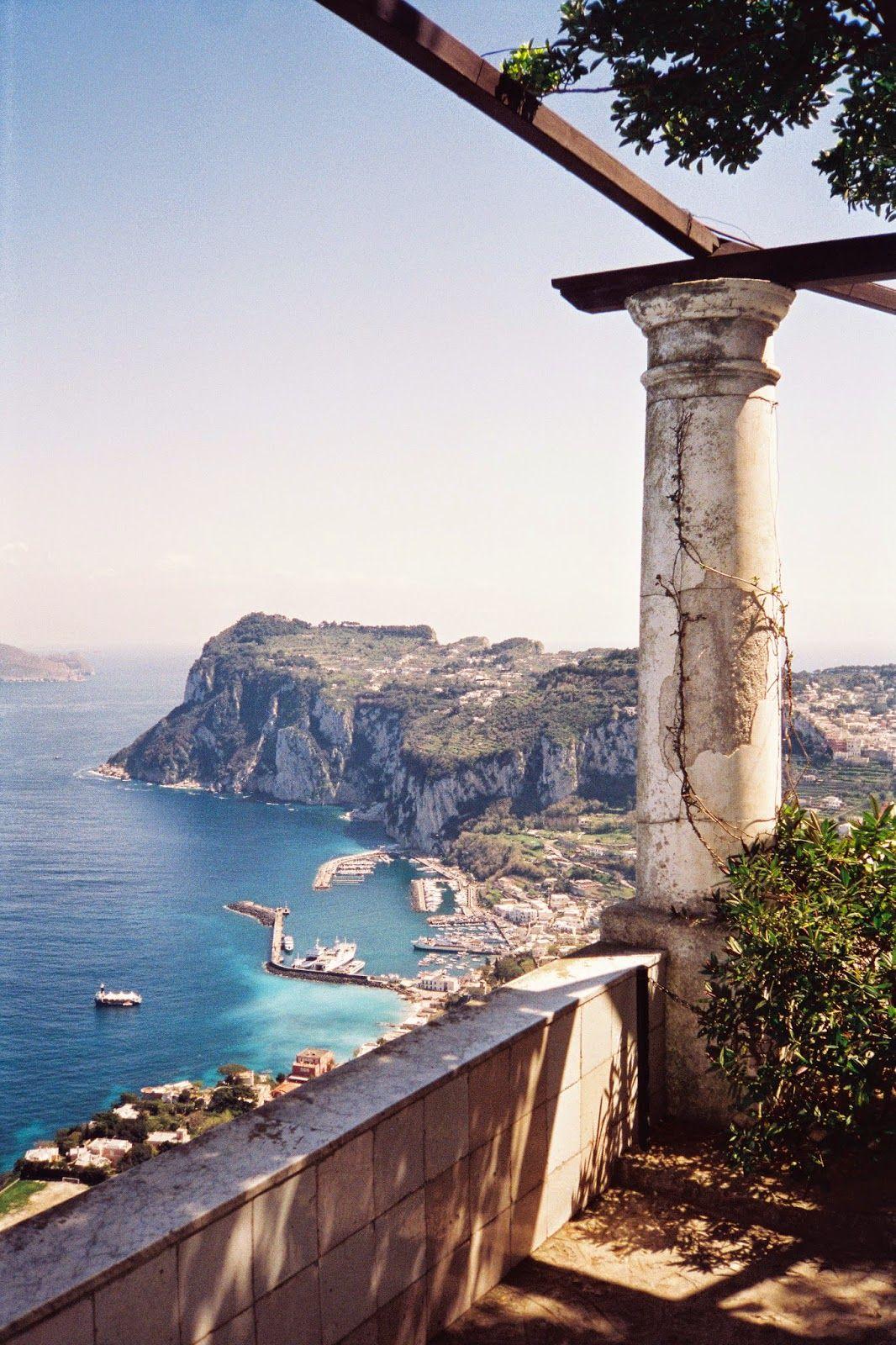 Habitually Chic® Chic in Capri Villa San Michele Where