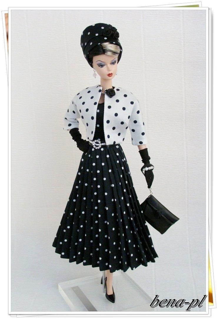 Bena Pl Clothes For Silkstone Vintage Barbie Ooak Outfit Ebay Dress Barbie Doll Barbie Dress Vintage Barbie