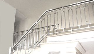 Best Steel Grille Railing In 2020 Steel Railing Design 400 x 300