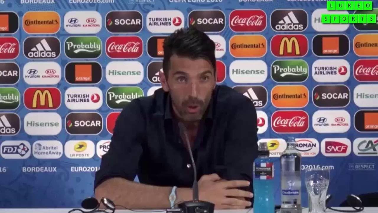 Gianluigi Buffon Talks About Manuel Neuer
