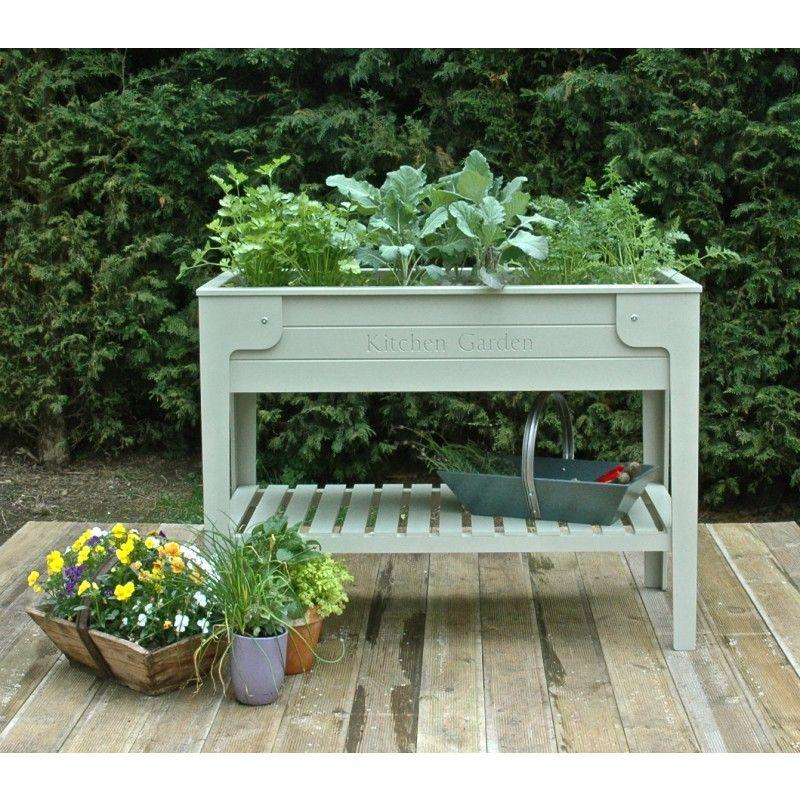 Kitchen Garden Ideas Pinterest: Kitchen Garden Living Larder® Raised Planter