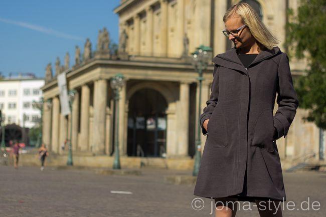Pepernoot Hooded Coat - JOMA-style