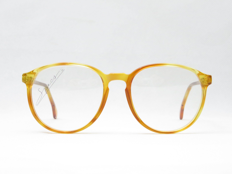 Original Vintage Brille Coeln Optik Panto Kunststoff