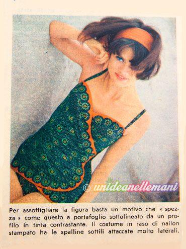 Moda Mare Vintage: abiti e costumi da bagno anni 60 | Pinterest ...