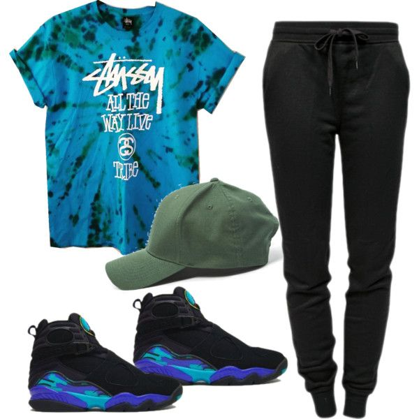 1fcd95ab05275d 2015 fashion swag aqua 8 jordan outfit by aliya-ramon on Polyvore featuring  polyvore fashion style T By Alexander Wang
