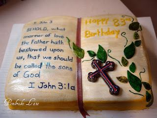 Fine Bible Verse Birthday Cards Bible Cake Christian Cakes Cake Funny Birthday Cards Online Inifodamsfinfo