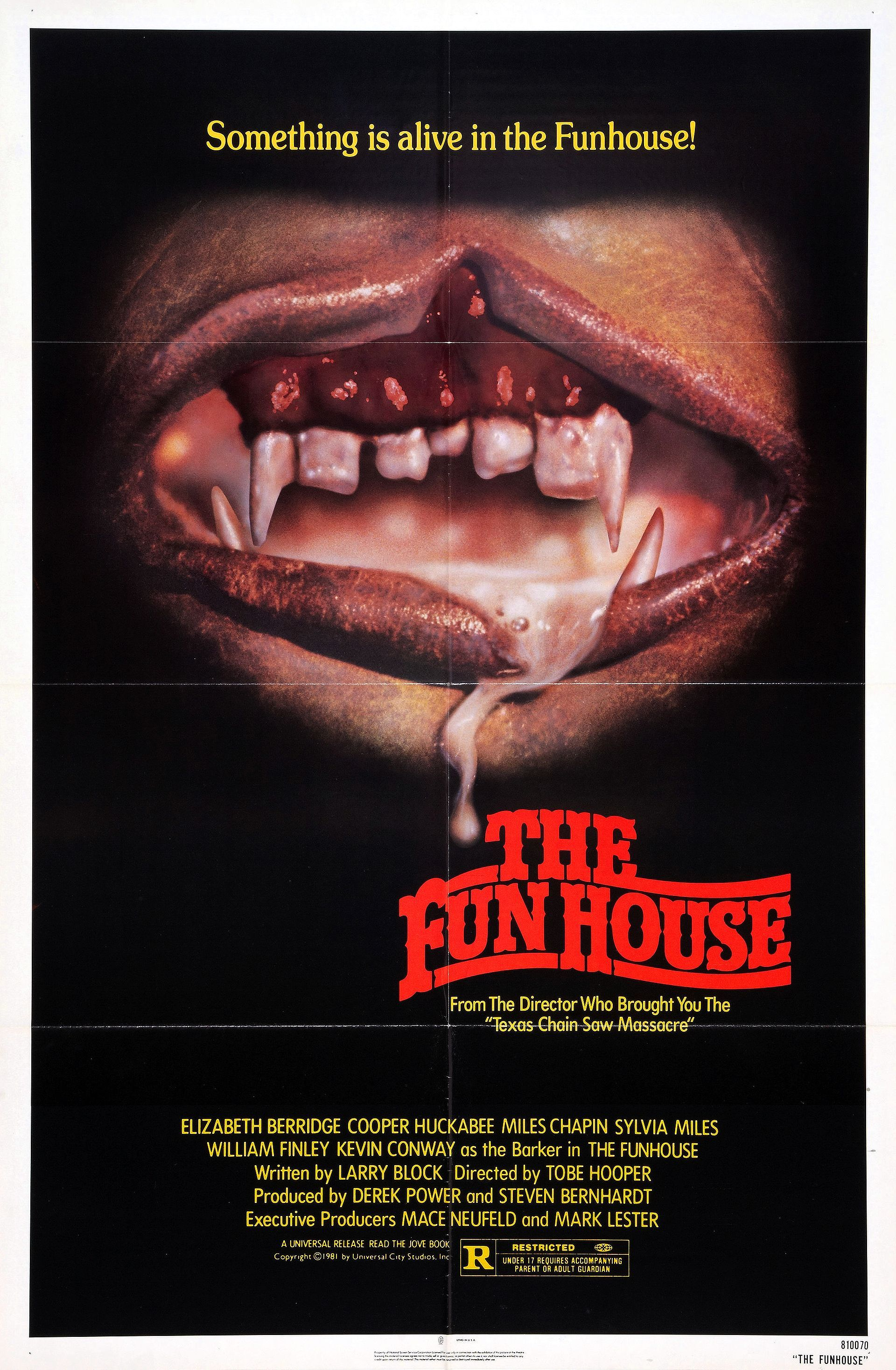 The Funhouse Movie Posters Slasher Movies Horror Movie Posters