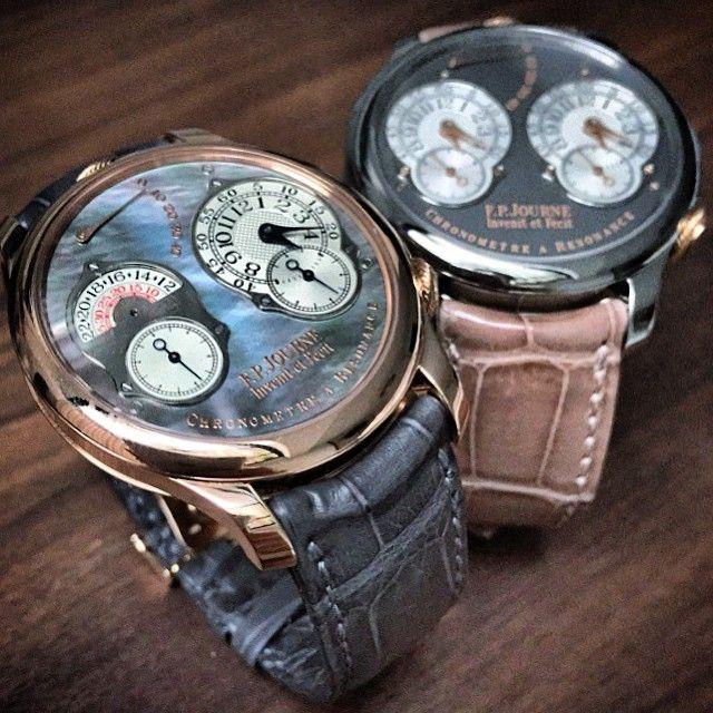 89385ad047f Instagram media watchinsanity - F.P. Journe Chronometre a Resonance III  with…