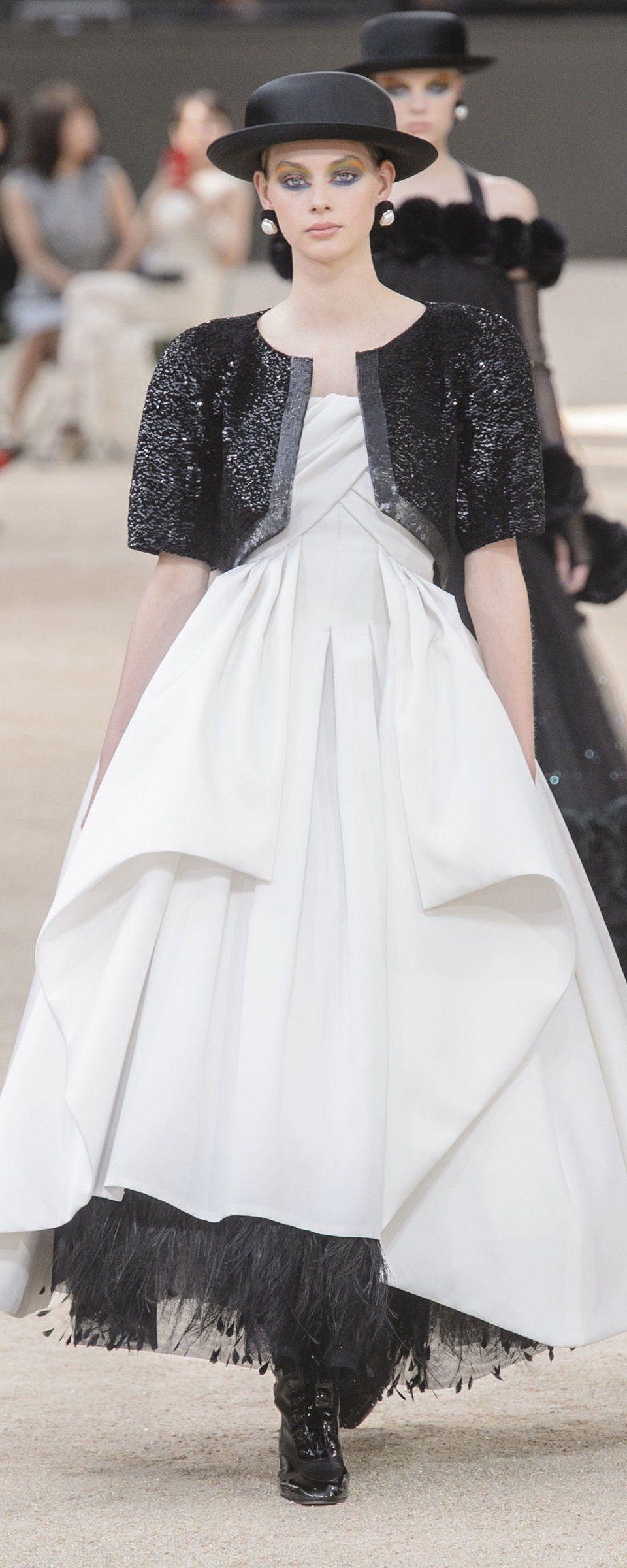 Chanel fallwinter couture winter fall winter