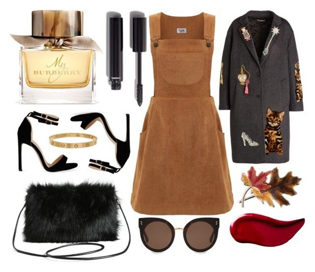 """fallisnothingwithoutfoliage #2"" by luisessed ❤ liked on Polyvore featuring Burberry, Chanel, Anne Klein, Dolce&Gabbana, Kat Von D, Torrid, STELLA McCARTNEY and Cartier"