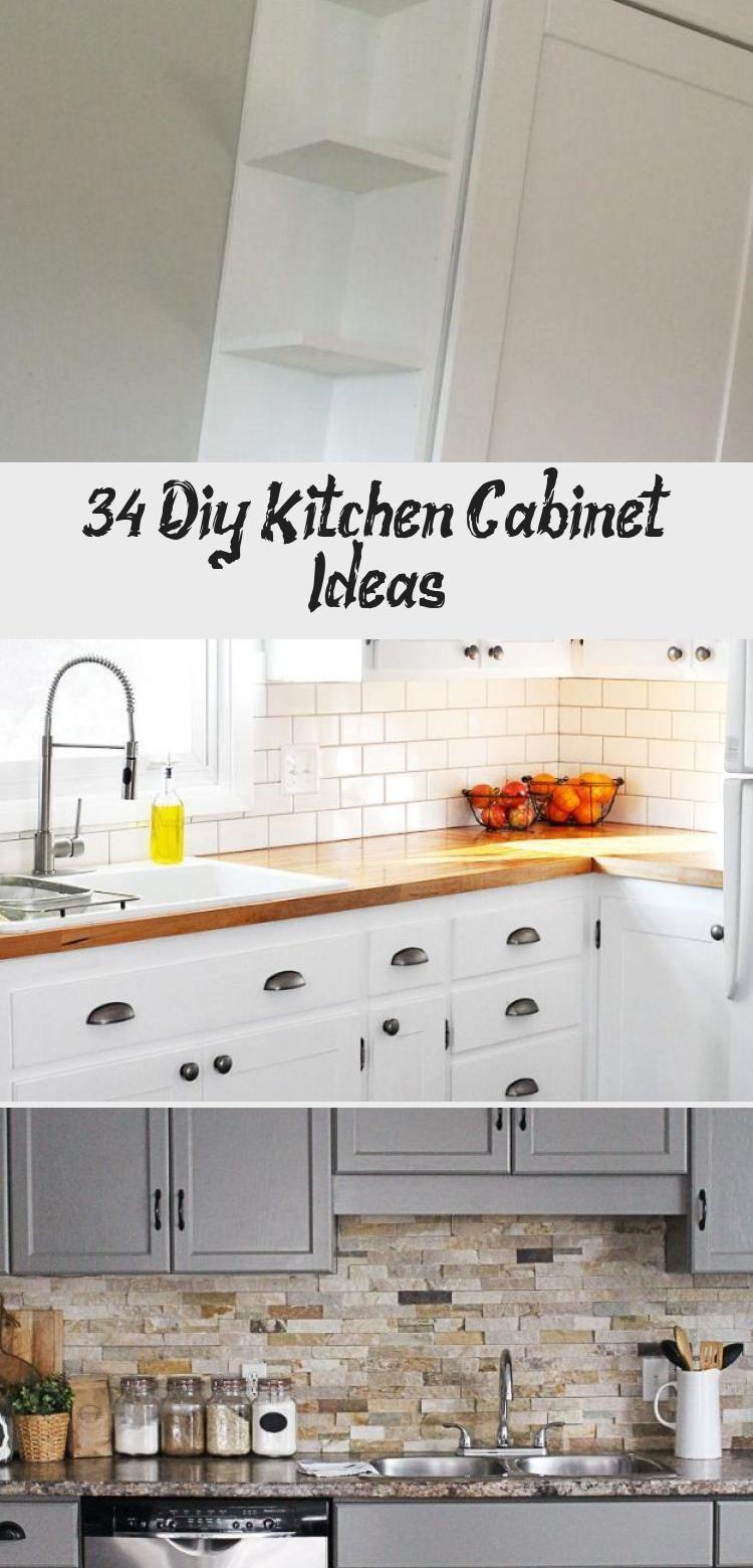 34 Diy Kitchen Cabinet Ideas Ktchn Diy Kitchen Cupboards Diy Kitchen Cabinets Kitchen Design