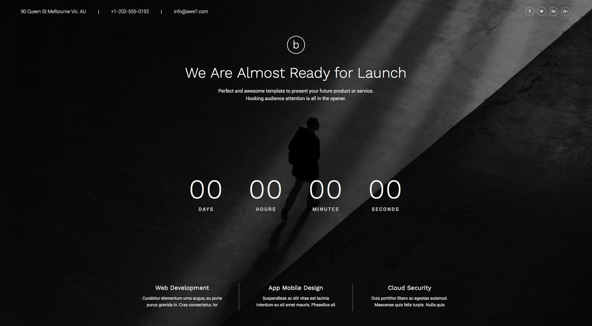 Coming2Live One Free responsive HTML5 Bootstrap Coming