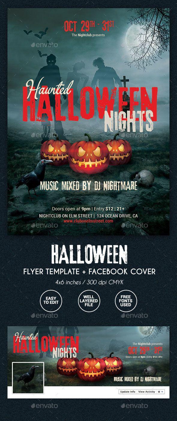 Halloween Party Flyer | Halloween party, Flyers and Parties