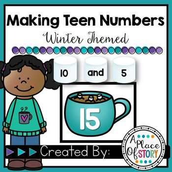 Making Teen Numbers FREEBIE | Kindergarten Math | Pinterest | Teen ...