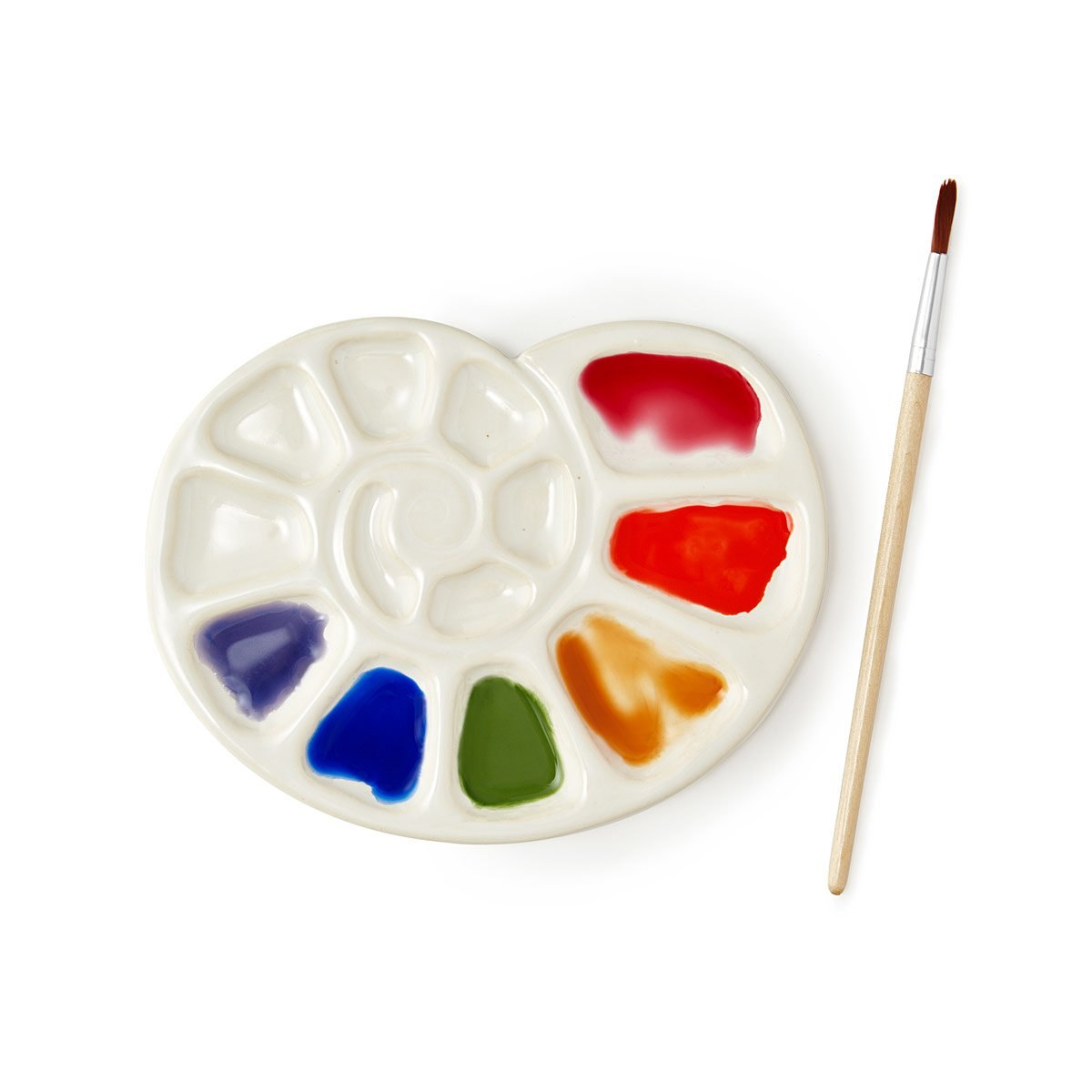 Nbsp Moon Shell Palette In 2020 Ceramics Ceramics Projects Ceramic Painting