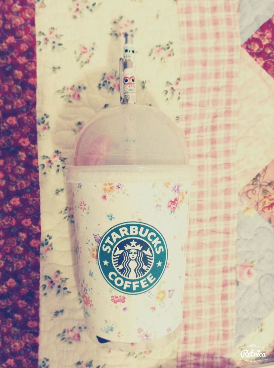 A bit confusing: DIY starbucks cup