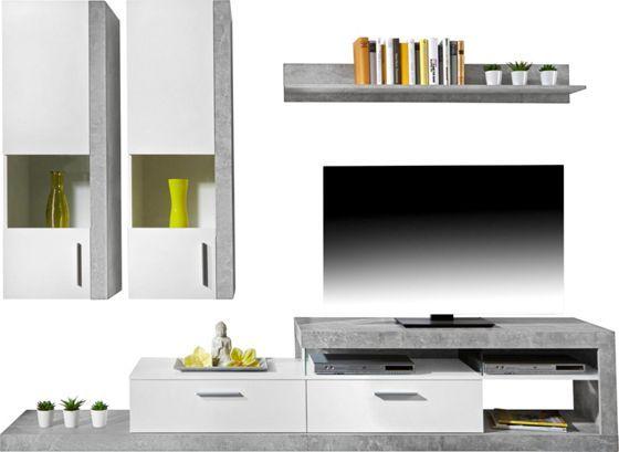 Wohnwand Individuell Gunstig Jetzt Im Mobelix Onlineshop Kaufen House Apartment Flat Screen