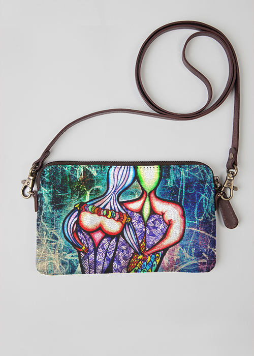 VIDA Statement Clutch - Perplexed by VIDA
