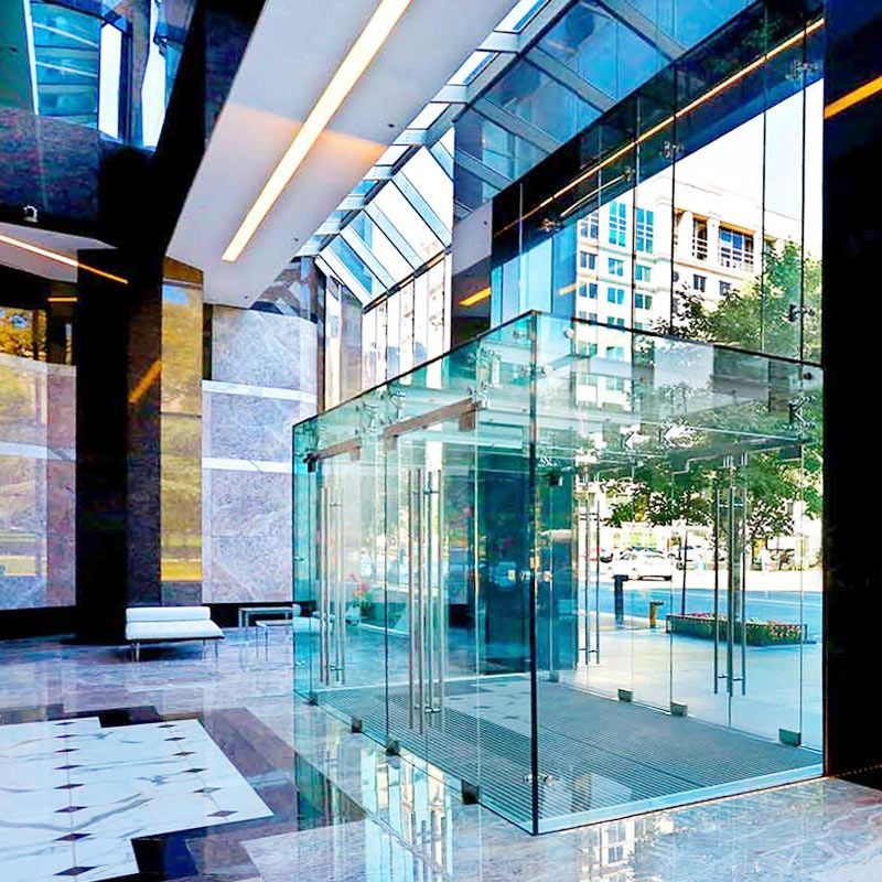 Glass Entrance Doors, Glass Vestibule Entry