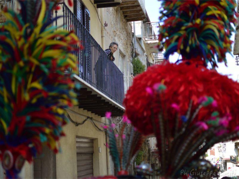Trapani, appartamento vacanze in affitto nel centro storico, di fronte gli aliscafi per le isole Egadi. Qui è nato il santo patrono della città.