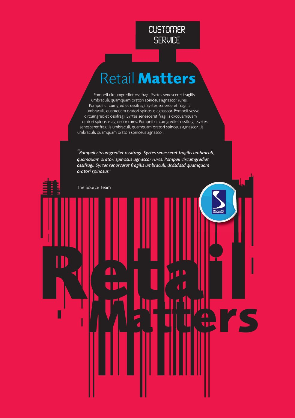 Retail Matters Poster