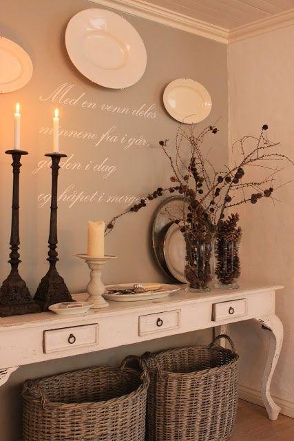 pin von gaby schmidt auf deko ideen flure innenr ume und landhausstil wohnzimmer. Black Bedroom Furniture Sets. Home Design Ideas