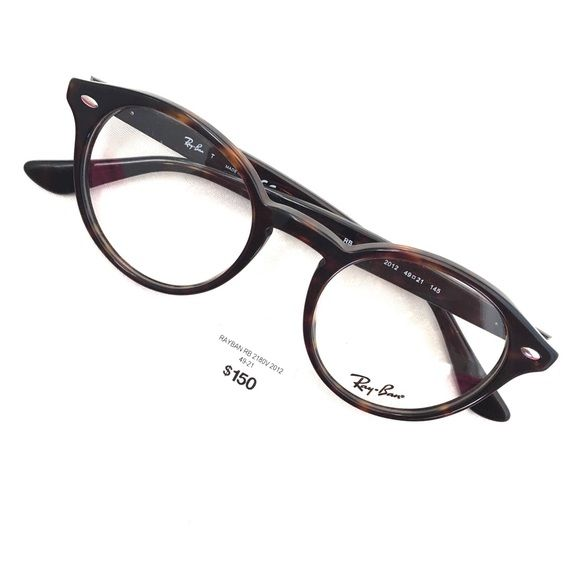97d9f0e9b2 Eyewear · Ray-Ban Tortoise Frames These are brand new RB 2180v frames that  have never been
