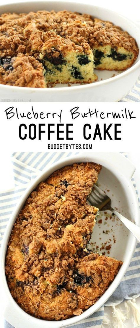 Blueberry Buttermilk Coffee Cake Recipe Budget Bytes Recipe Buttermilk Coffee Cake Blueberry Buttermilk Coffee Cake Recipe Coffee Cake Recipes