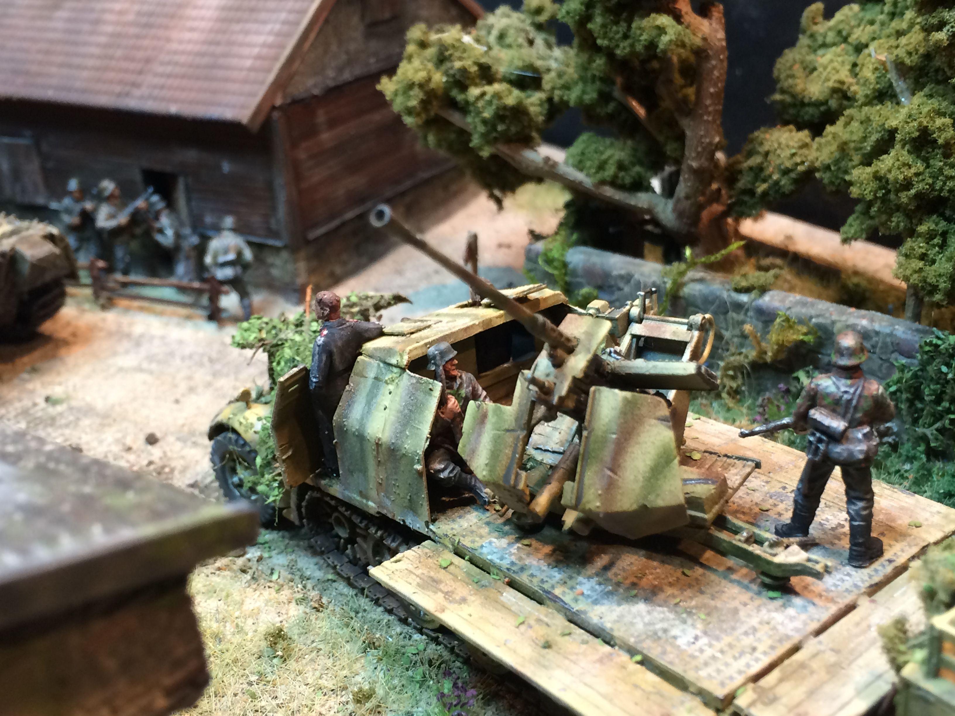 World War 2 Diorama 1 35