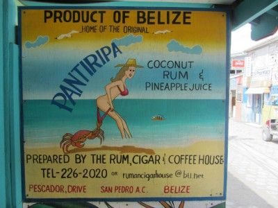 The national drink of Belize.