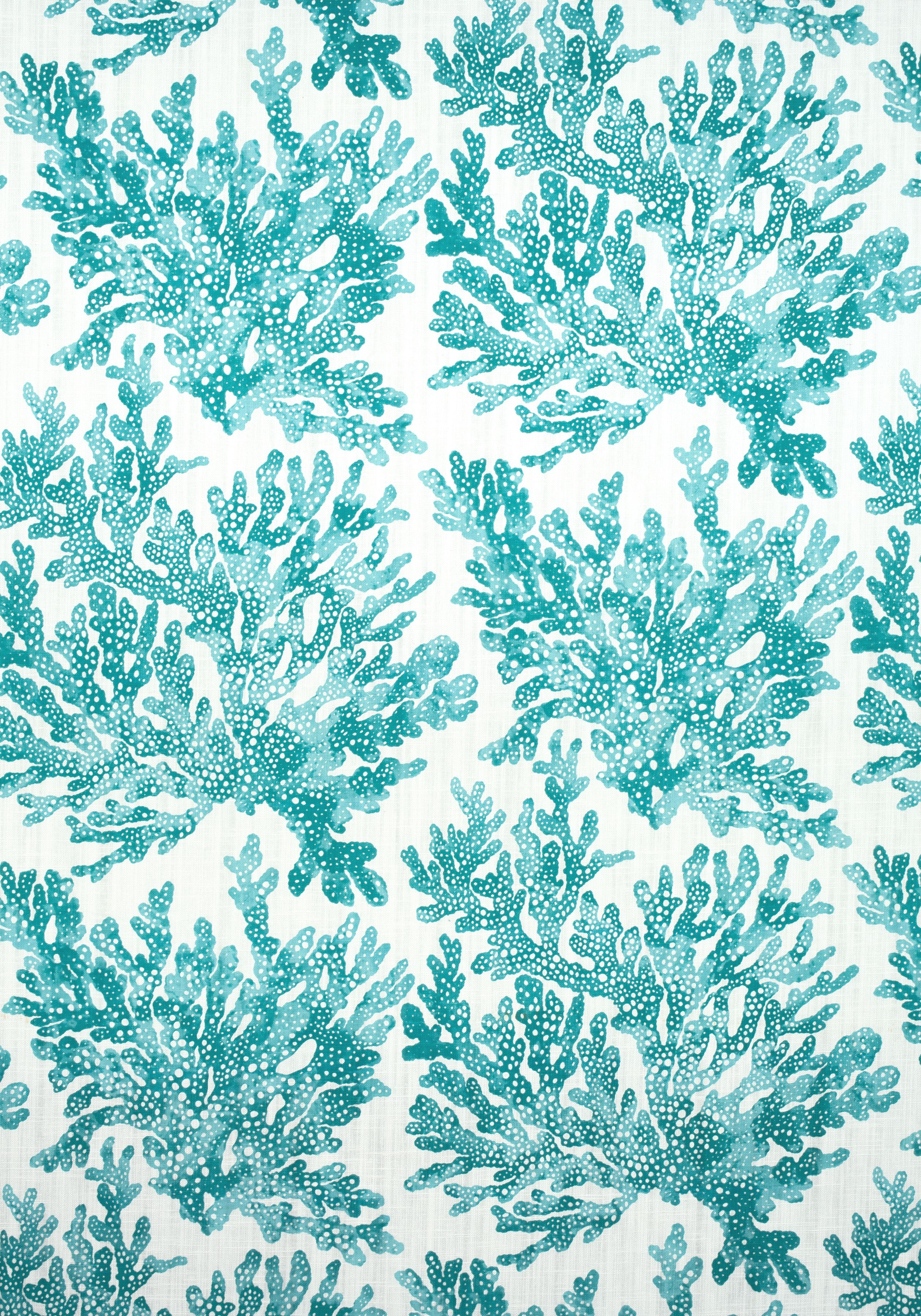 MARINE CORAL, Turquoise, F910121, Collection Tropics from