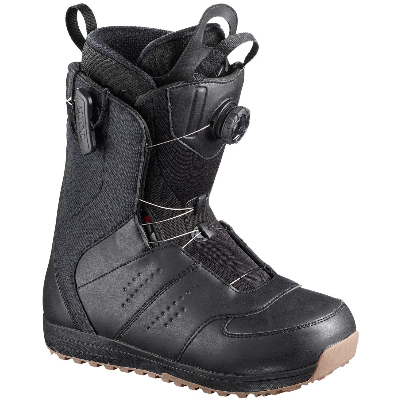 Salomon Launch Boa SJ Snowboard Boots 2019 9 in Black
