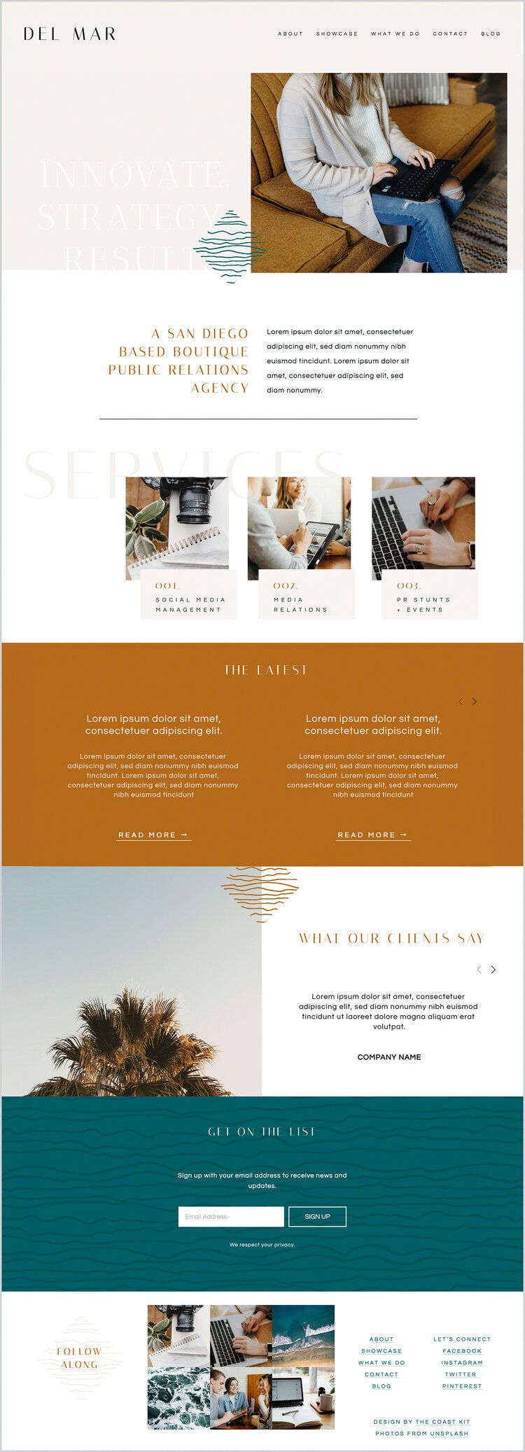 Pin on Design Squarespace Templates