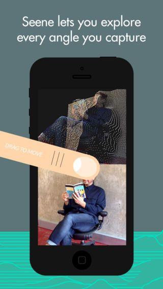 Seene: Share life in 3D - Sjov, gratis IOS-app, som man kan lave små 3D-sekvenser med ved at tage billeder af et objekt fra forskellige vinkler (Se eksemplerne på websiden)