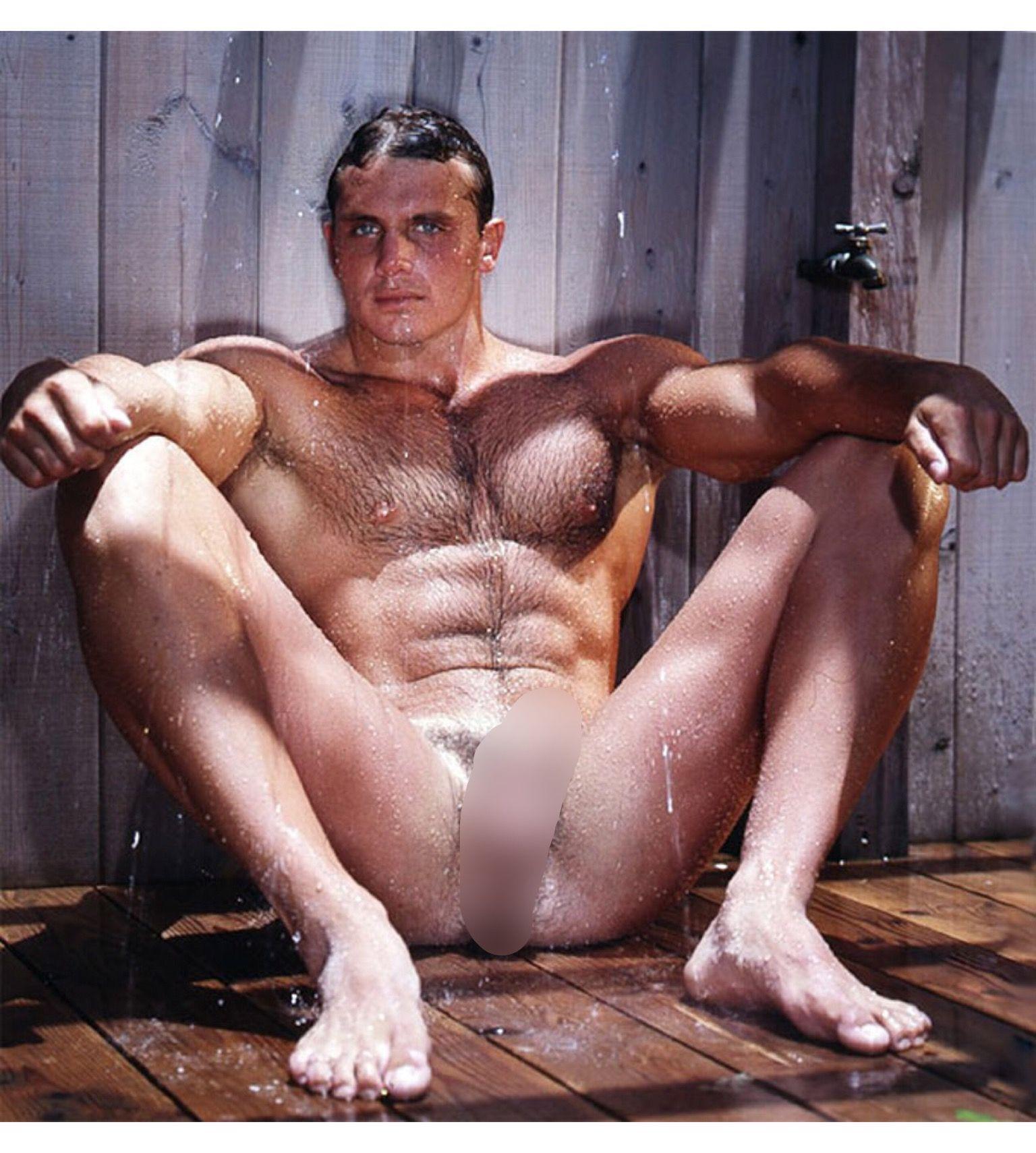 John Pruitt, Colt, Muscle, Blonde, Shower, Hairy, Hunk -5687