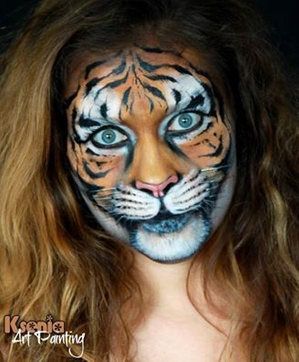 40 Easy Tiger Face Painting Ideas for Fun – Bored Art