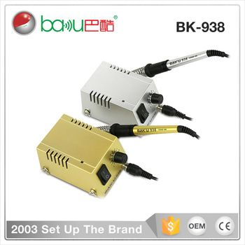 Best Sale Baku Anti Static Soldering And Desoldering Station Bk 938 Soldering Machine Electronic Business Electronics Technology Soldering Machine