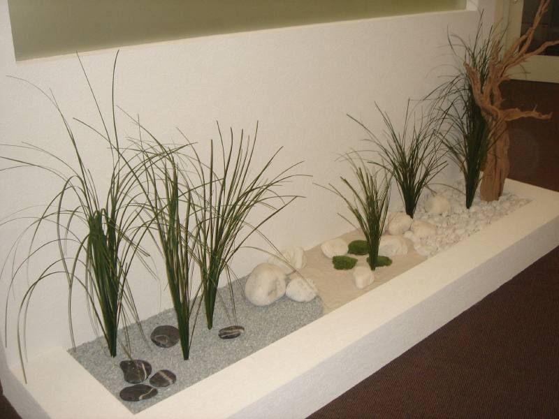 id e d 39 une jardini re style zen d coration d 39 int rieur. Black Bedroom Furniture Sets. Home Design Ideas