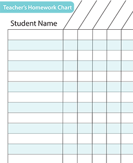 assignment tracker template
