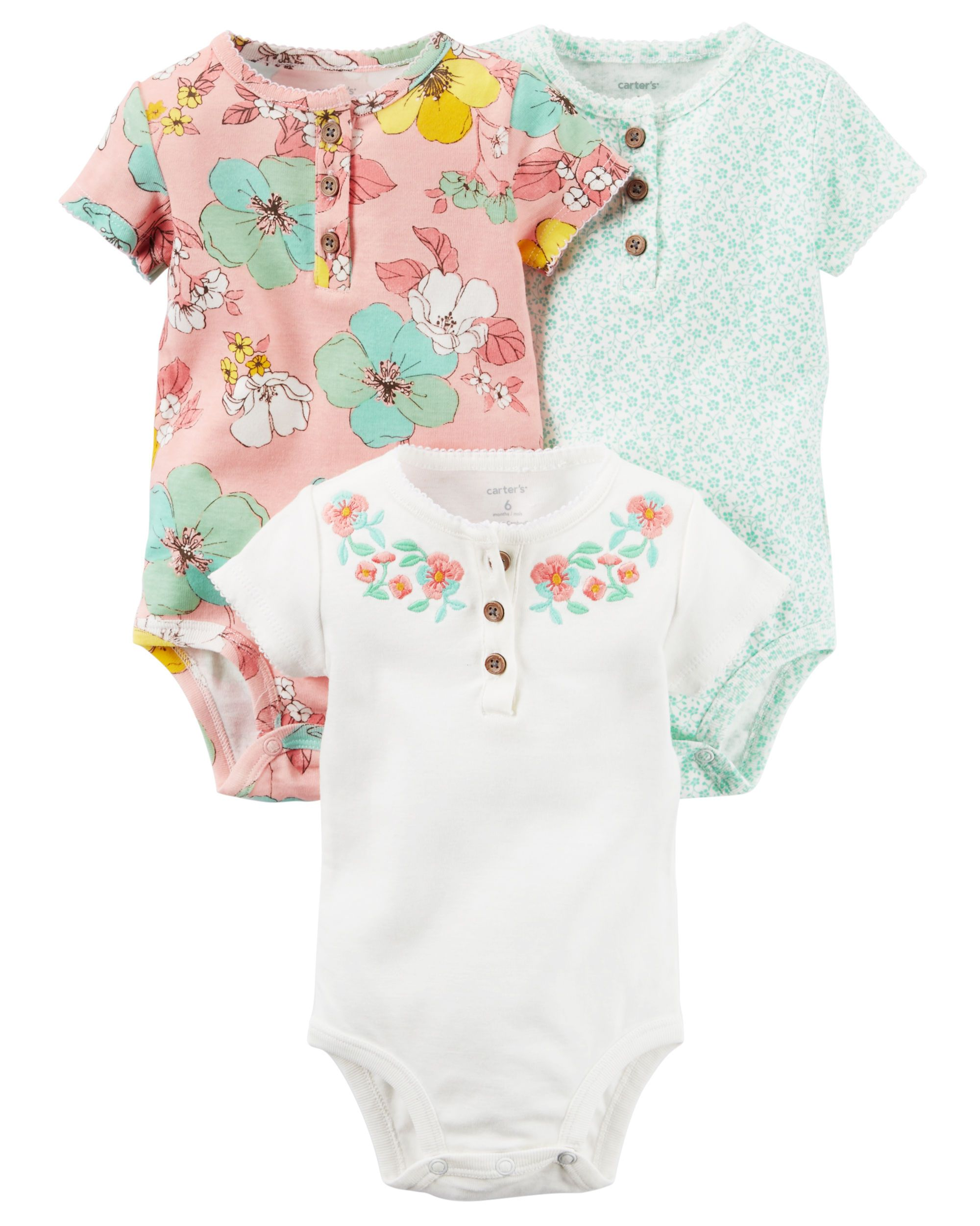 3 Pack Originals Bodysuits