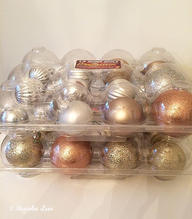 Tips  Tricks to Organize all that Holiday Decor! Store fragile