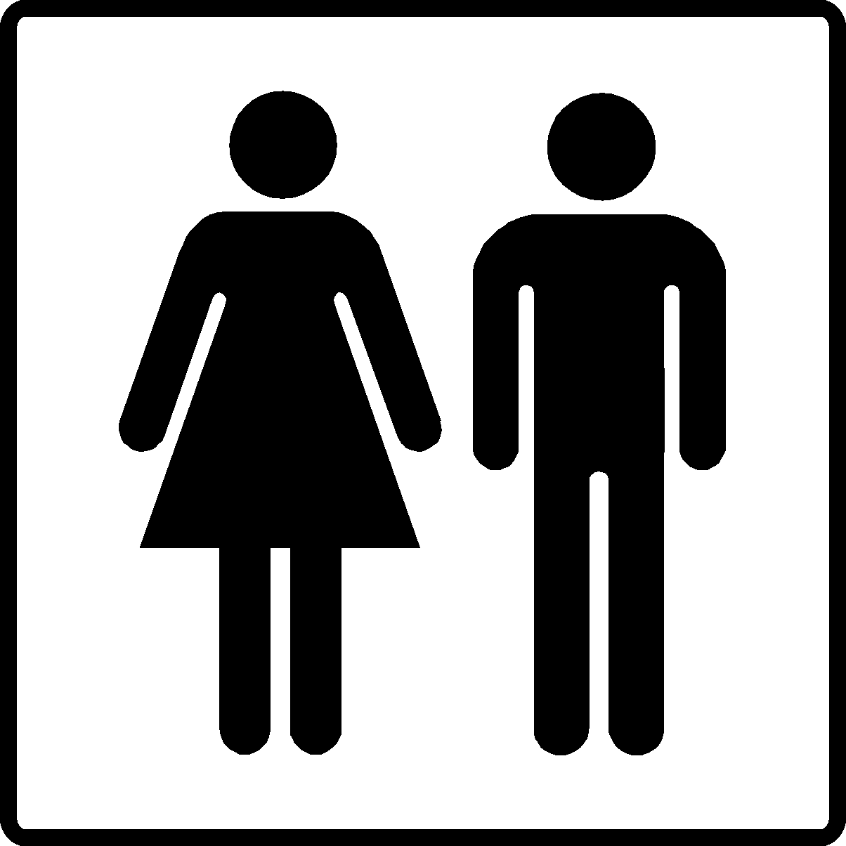 clipart wc uomini - photo #5