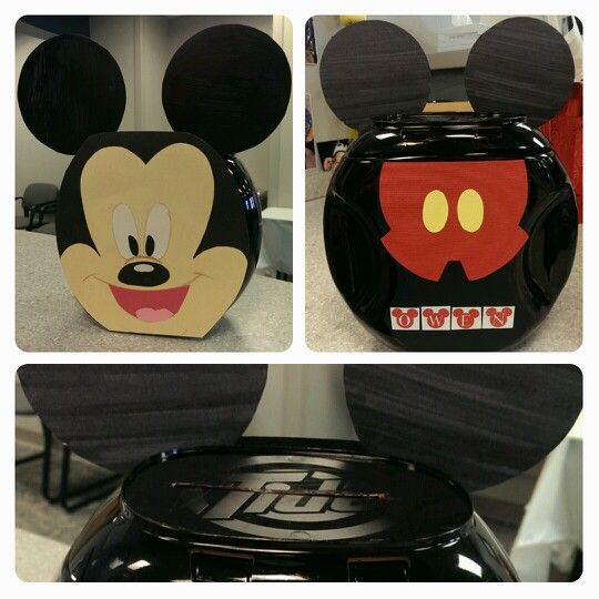We Created A Mickey Mouse Valentines Box Made From A