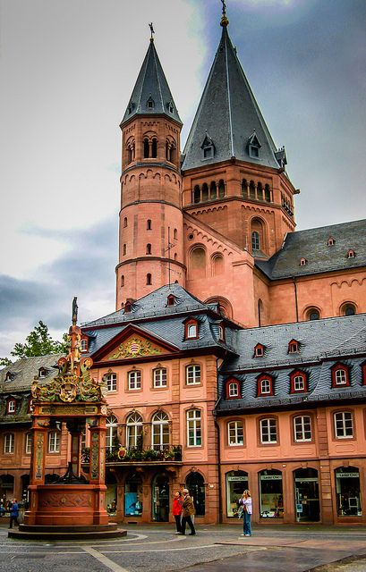 Wonderful Mainz, Rhineland-Palatinate, Germany http://www.travelandtransitions.com/european-travel/