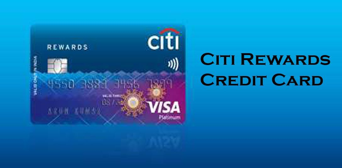 Citi rewards credit card application and activation